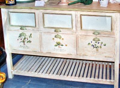 Vaisselier peint commodes peintes commodes d cor es decor sur meuble pei - Meubles provencaux patines ...
