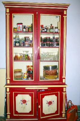 Rtisan d art meuble peint cr ations originales artisan d - Peindre une armoire ancienne ...