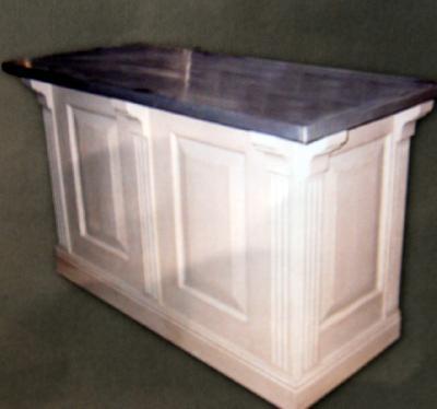 Comptoir de bar copie commode louis xv meubles de salle de for Comptoir du meuble delson